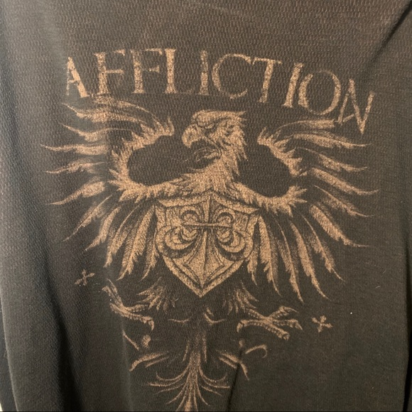Affliction Other - Affliction reversible shirt men's size XXL